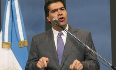 Enojado, Capitanich anunció que demandarán a Ocaña por sus denuncias sobre el Fútbol para Todos