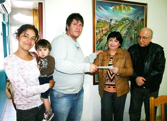 El municipio entregó ayudas económicas para construcción de unidades habitacionales
