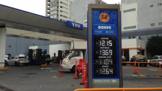 Argentina tiene una de las naftas más caras pese a la baja sostenida del petróleo