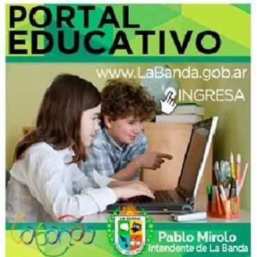 La Municipalidad de La Banda presenta su Portal Educativo, único en la provincia