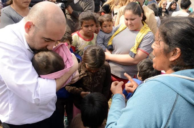 """La campaña """"Todos somos uno"""" llegó al barrio Gorrini"""