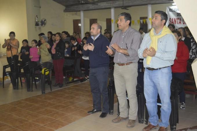 El intendente Mirolo participó de la fiesta patronal de Santa Clara