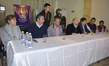 El intendente Mirolo dio a conocer el programa de actos para el cumpleaños de la ciudad