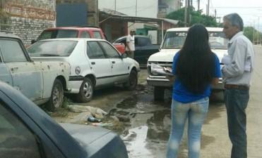 Intensifican controles de higiene en el centro de La Banda