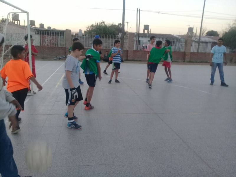 Escuelas municipales de fútbol infantil participaron de un convocante torneo