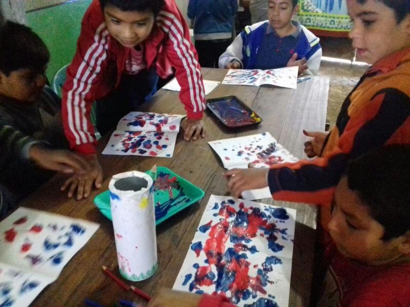 Cultura del municipio realiza actividades para niños y adolescentes en los barrios