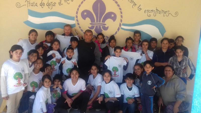 El municipio brindó apoyo a niños folcloristas de Sauce Bajada