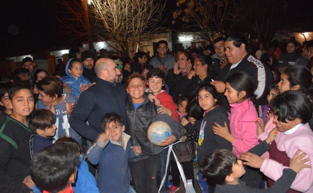 El intendente Mirolo inauguró una plaza saludable en el Bº Matadero Viejo