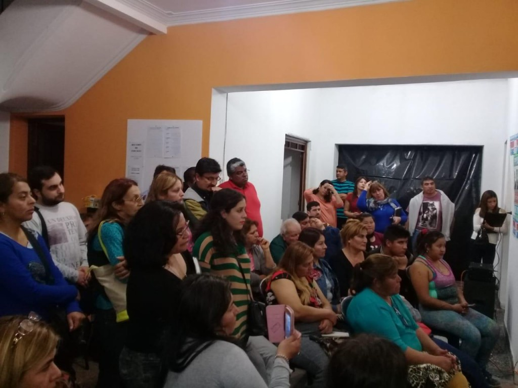 Nutrida Agenda de la candidata a concejal  Ana Corradi de Beltran