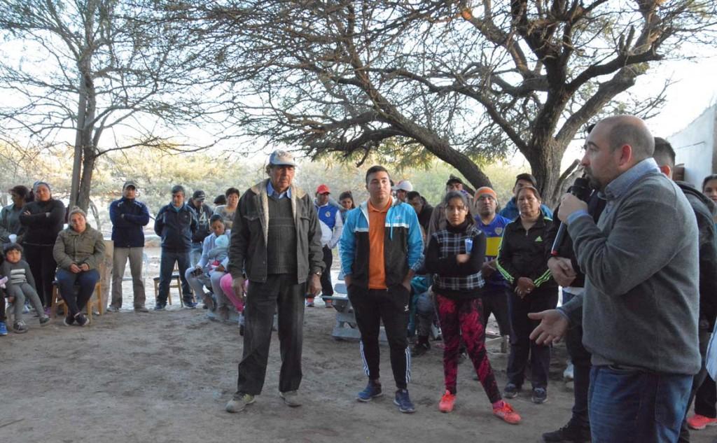 """""""El apoyo de la gente en las calles nos alienta a seguir trabajando por un futuro mejor para La Banda"""""""