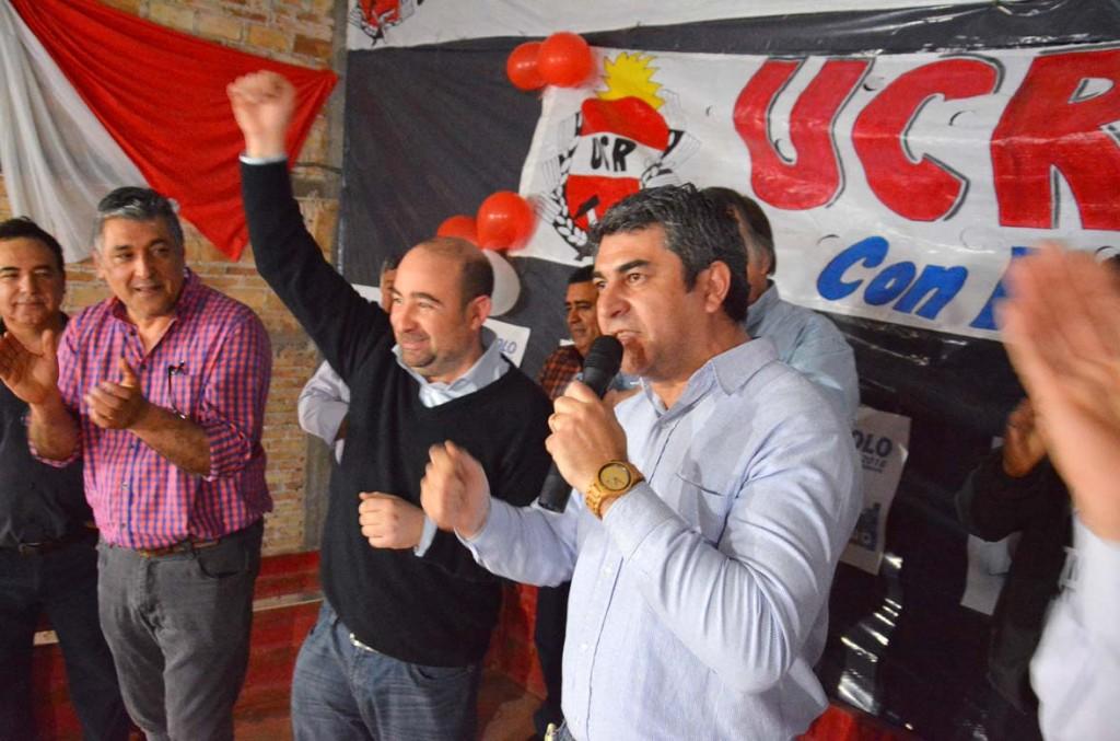 Radicales manifestaron su apoyo a la fórmula del Frente Renovador
