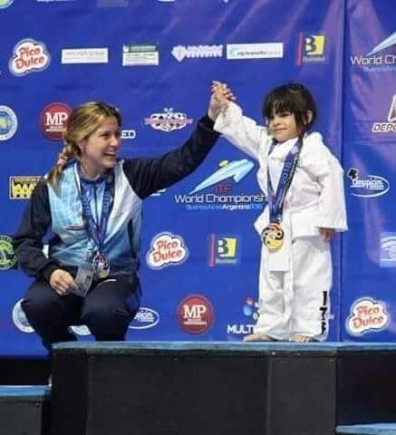 Satisfacción por la consagración de Belén Hoyos en el Mundial de Taekwondo Adaptado