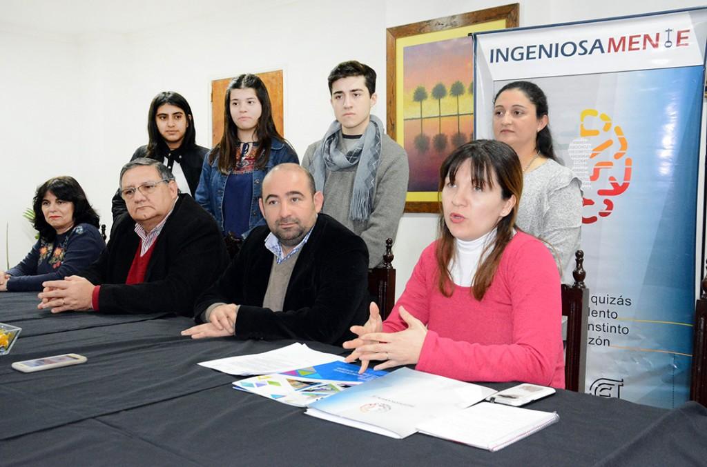 Mirolo anunció el lanzamiento de la cuarta edición del Concurso Ingeniosamente