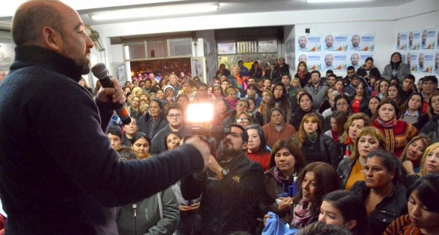 """Mirolo: """"Vamos a convertir a La Banda en la ciudad más segura de toda la provincia"""""""