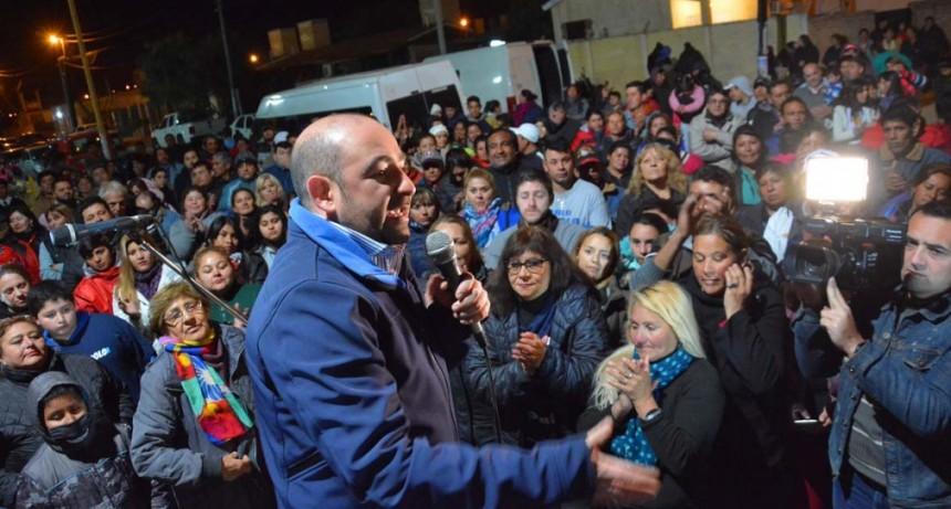A una semana de las elecciones Pablo Mirolo sigue sumando adhesiones en los barrios