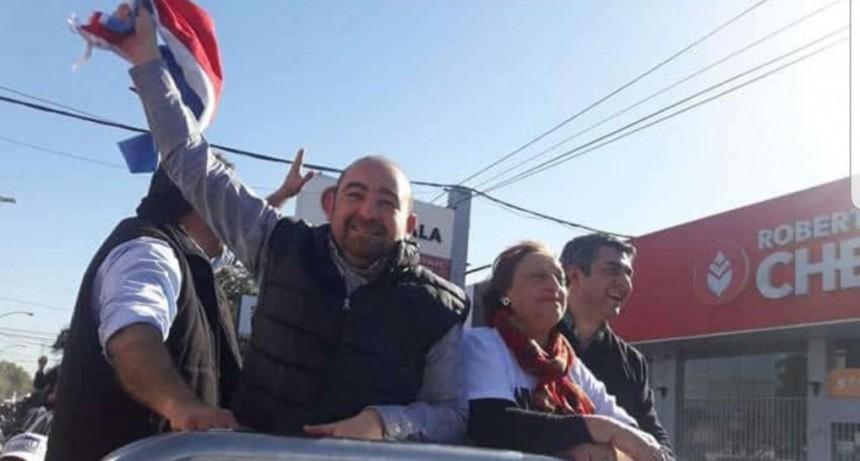"""Mirolo: """"Los bandeños vamos a ratificar el domingo la transformación que iniciamos hace cuatro años"""""""
