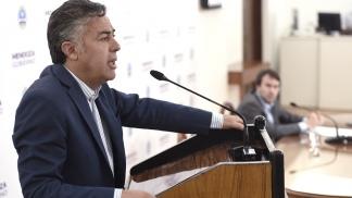 Cornejo llamó a votar por Macri porque