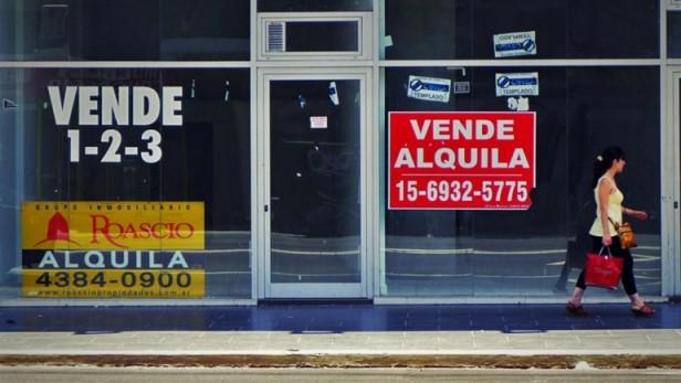 Efecto recesión: se duplicó la cantidad de locales vacíos y ya son casi 300 en la Ciudad