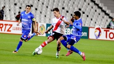 River derrotó a Godoy Cruz en su debut en la Copa Sudamericana