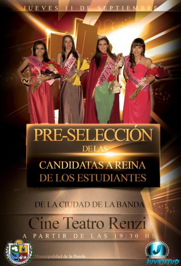 Esta semana se hará Pre- Selección de las Candidatas a Reina