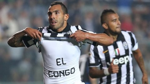 Con dos goles de Tevez, Juventus superó a Atalanta y sigue puntero