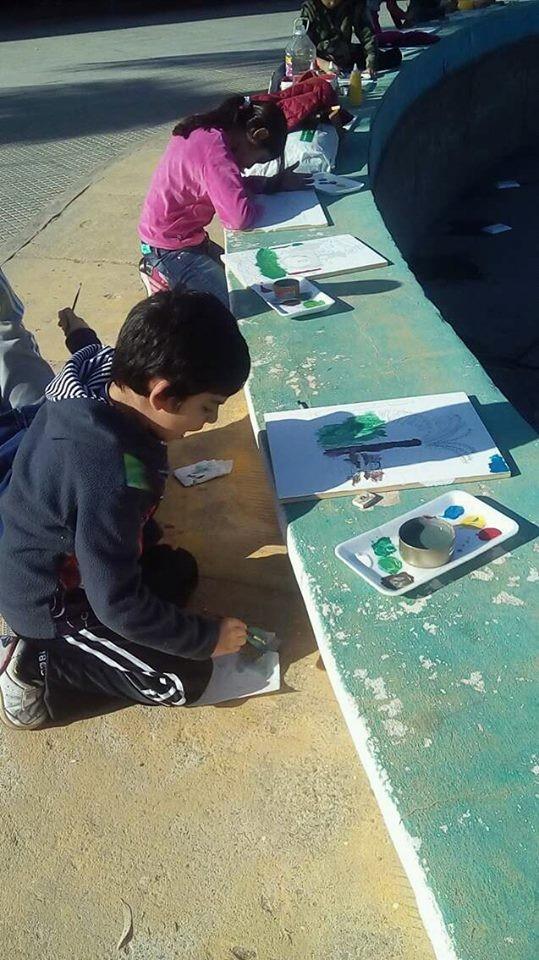"""El viernes expondrán pinturas del taller """"Mis Colores"""" en la Dirección de Cultura"""