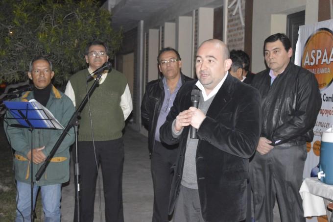 El intendente participó en la inauguración de la sede de Aspaa filial Banda
