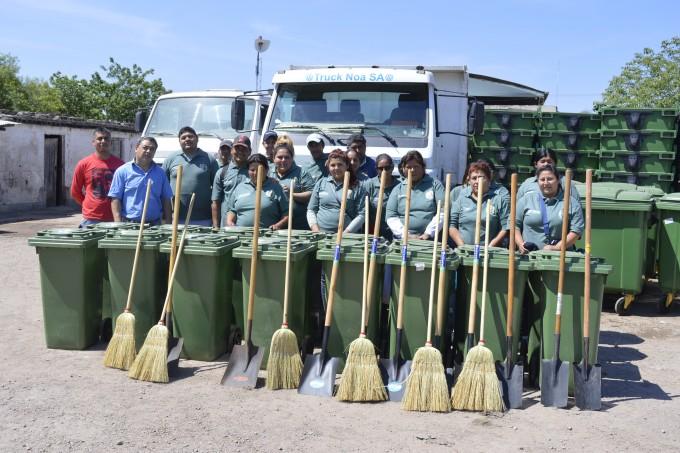 """La campaña """"La Banda Limpia es más Linda"""" sumó una nueva brigada de limpieza"""