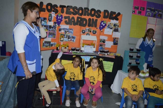 Los jardines de infantes municipales abrieron la 6ª Feria de Ciencia y Tecnología