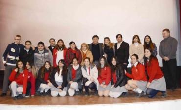El Colegio Mater Dei ganó el certamen de cortos audiovisuales