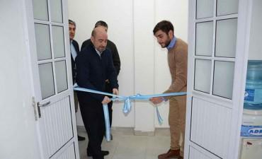 Mirolo inauguró las oficinas de la Dirección de Prevención Contra el Uso Indebido de Drogas