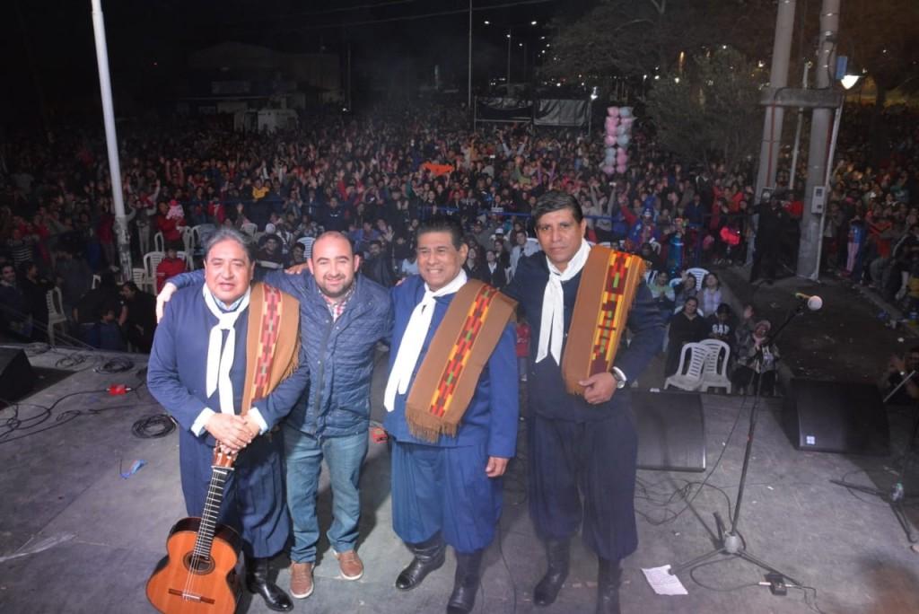 Una multitud participó del cierre de los festejos por el cumpleaños de La Banda