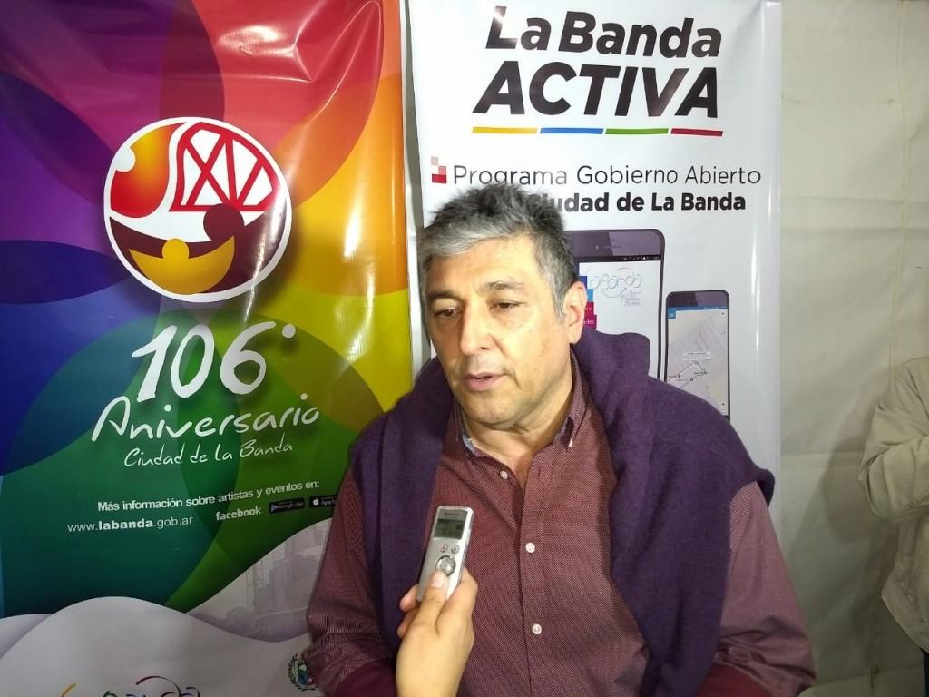 Nediani destacó la organización de la fiesta por los 106 años de La Banda