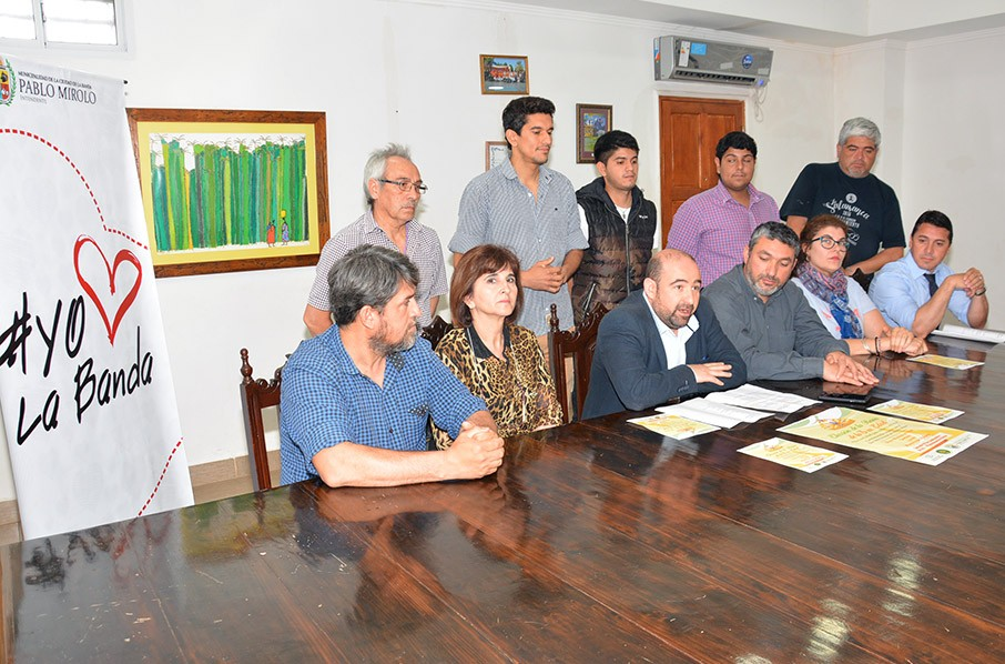 El intendente Mirolo anunció una importante cartelera de eventos culturales para cerrar el mes aniversario