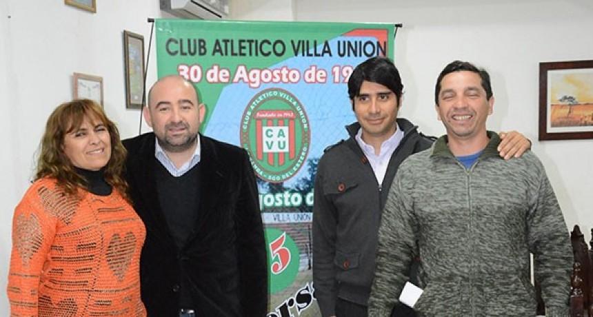 El municipio acompaña los festejos del Club Villa Unión en su 75º Aniversario