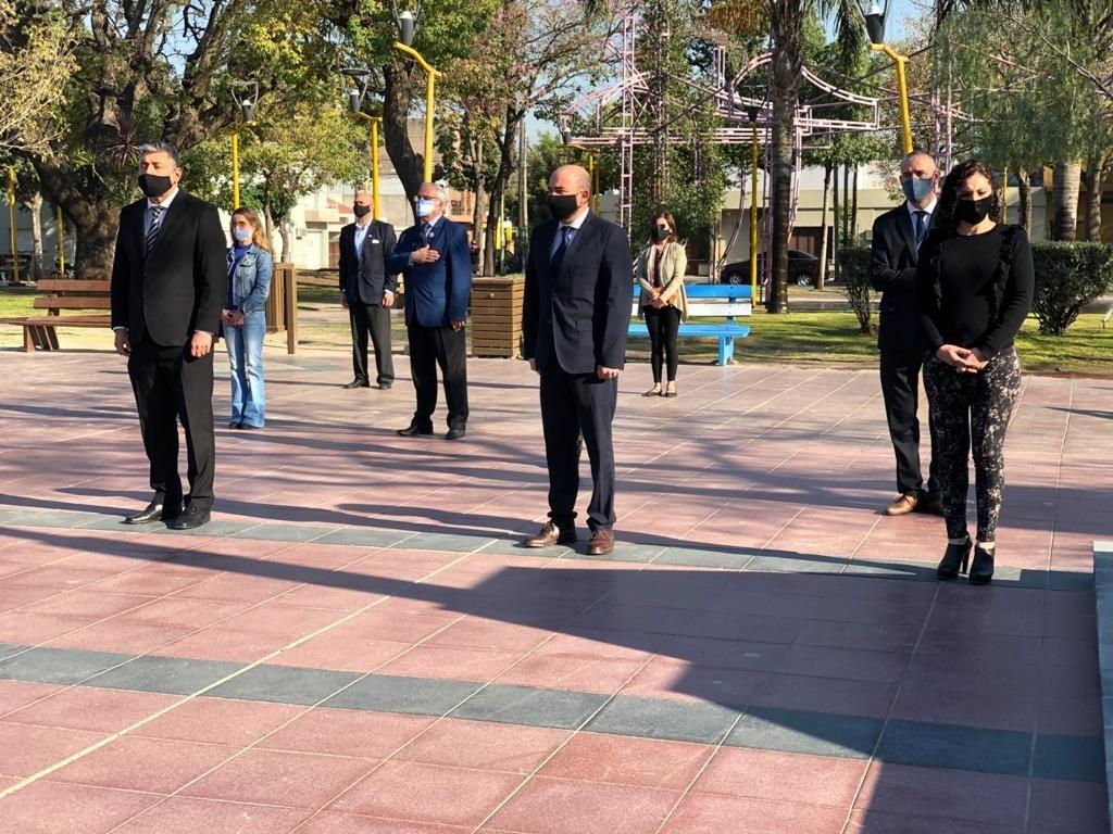 En el cumpleaños 108 de la ciudad Mirolo dijo que se vienen dos años con obras importantes para los bandeños