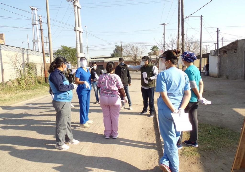 Realizarán este viernes un operativo de detección de casos de Covid-19 en el barrio San Carlos