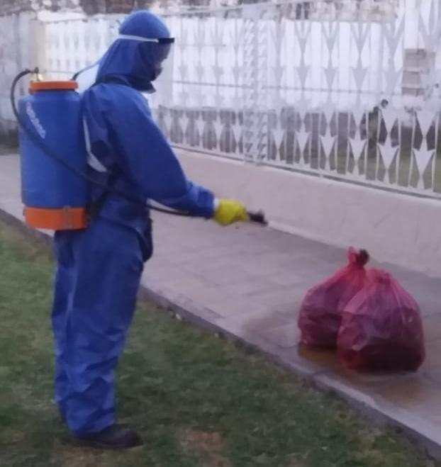 La comuna continúa con la recolección de residuos diferenciada en toda la ciudad