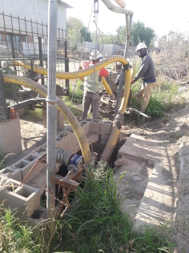 La comuna continua con el acondicionamiento de bombas y desagües pluviales