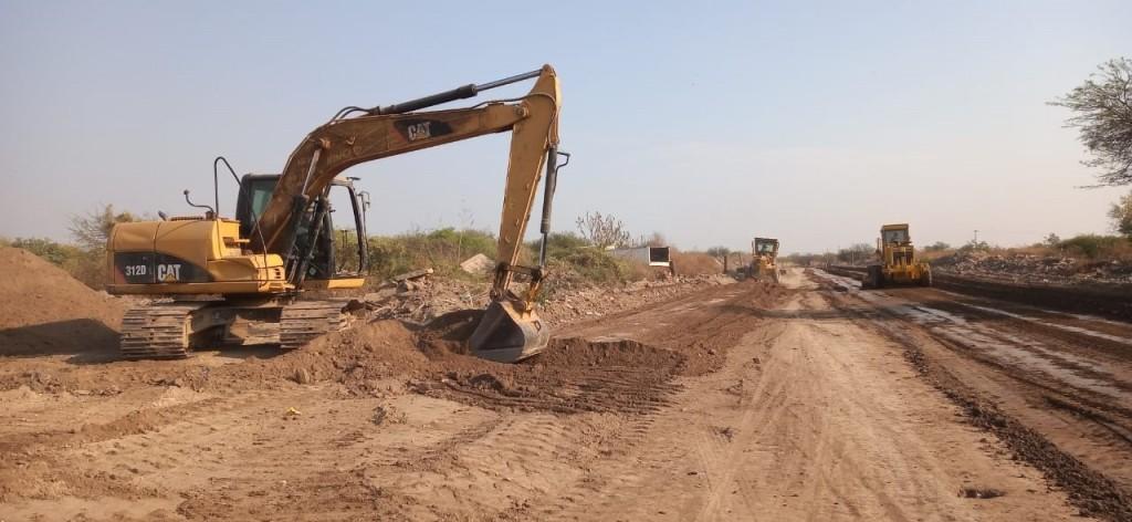 Piden precaución en la zona de calle Domingo Juárez por obras