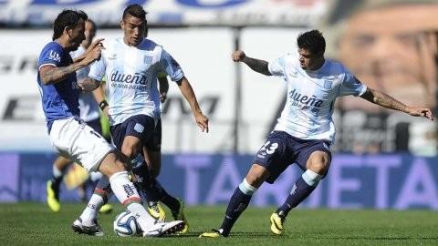 Racing venció a Vélez y ratificó sus aspiraciones en el torneo