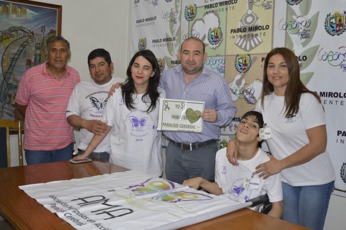 El municipio apuesta a la inclusión social de personas con parálisis cerebral
