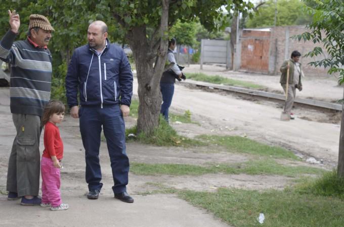Avanzan las obras de urbanización en el barrio Villa Suaya