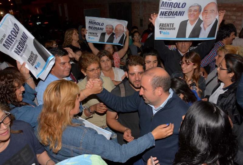 El candidato a gobernador por el FR 1 País dejó inaugurado un nuevo local partidario