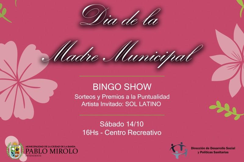 El próximo sábado será la gran fiesta en homenaje a las madres municipales