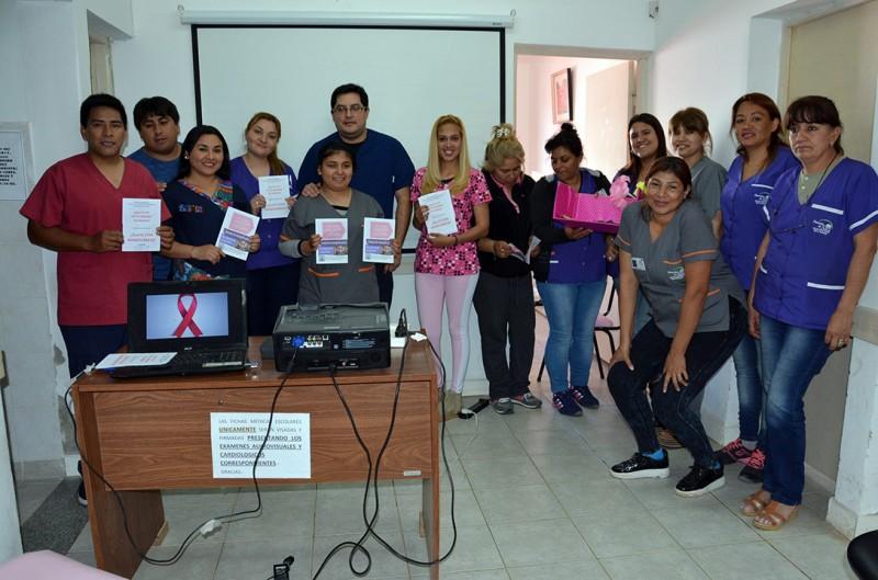 Salud Municipal realizó talleres por el Día Mundial de la Lucha Contra el Cáncer de Mama