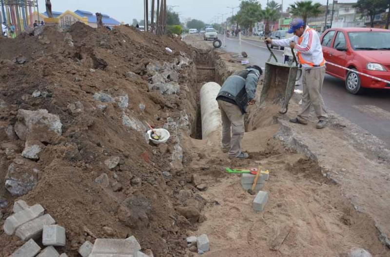 El buen funcionamiento del sistema de desagües evitó anegamientos pese a la lluvia torrencial