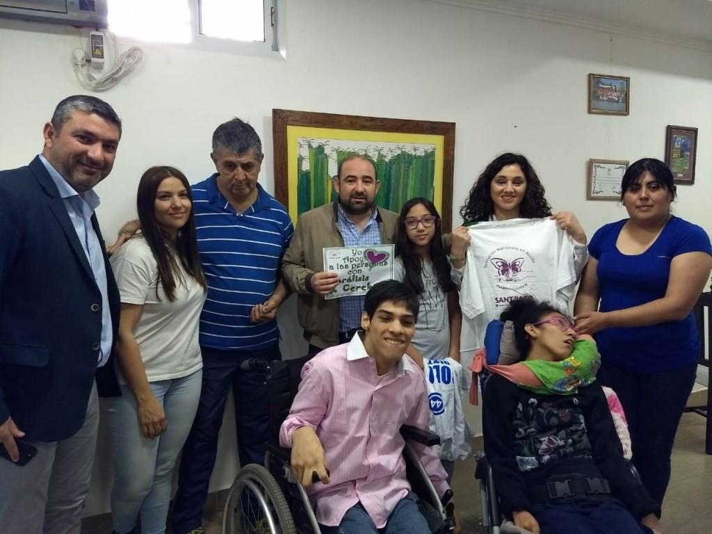 """El municipio se suma a las actividades por el """"Día Mundial de la Parálisis Cerebral"""""""