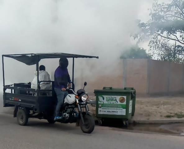 La comuna intensifica los operativos de fumigación en la ciudad