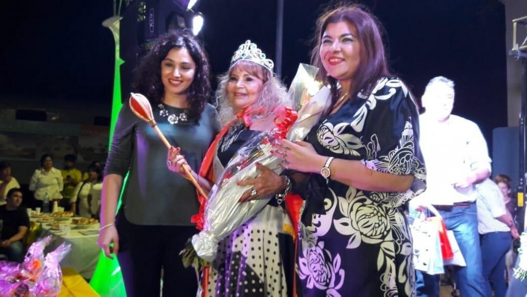 Teresa Escañuela de Boglione fue coronada como la Reina 2018 de la Tercera Edad